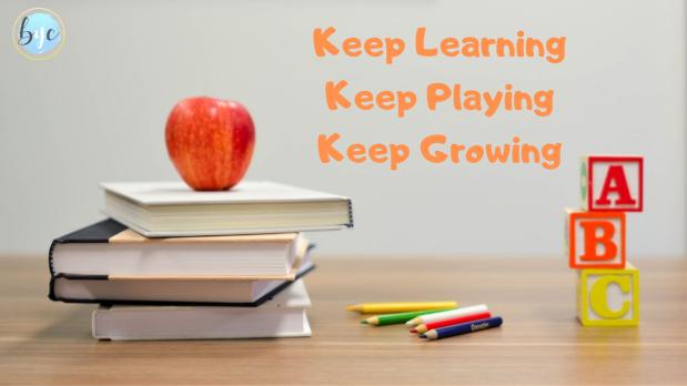 keep learning keep growing