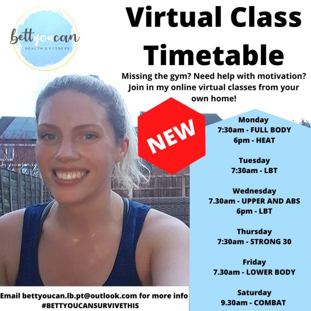 Virtual Class Timetable 3